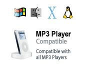 Feldenkrais mp3&#039;s compatible with all players